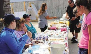 Community Living fundraises for fire victims